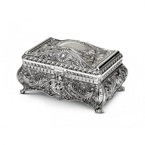 Christening Gift Antique Jewelry Box