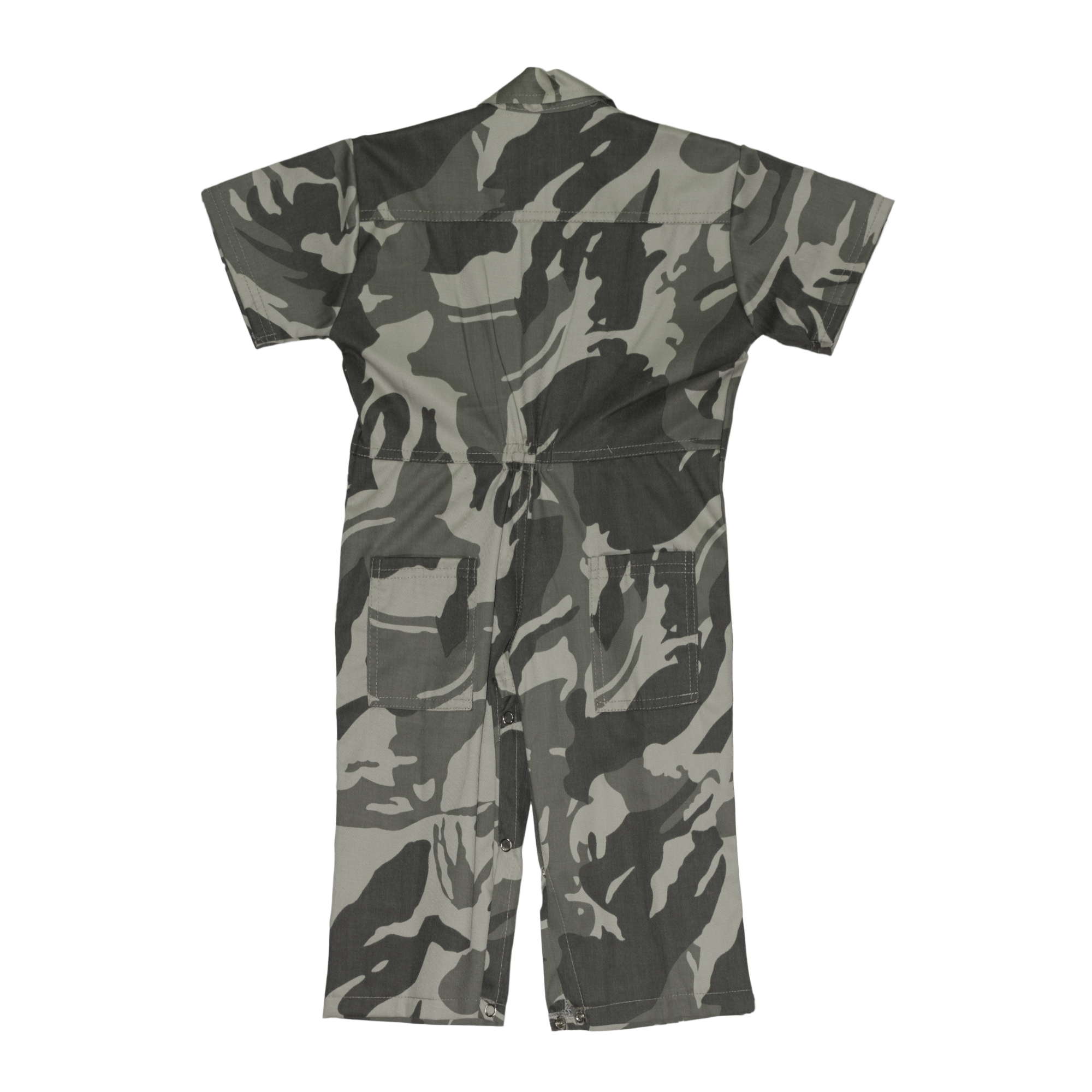 Overalls Camouflage Dark Green And Pink Baby Rules